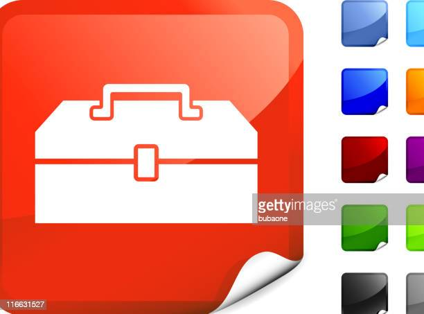 toolbox internet royalty free vector art - buckle stock illustrations