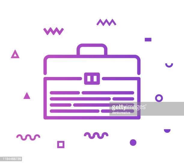 Toolbox Line Style Icon Design