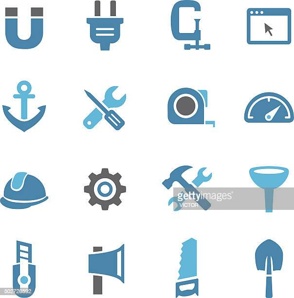 Tools and Settings Icons - Conc Series