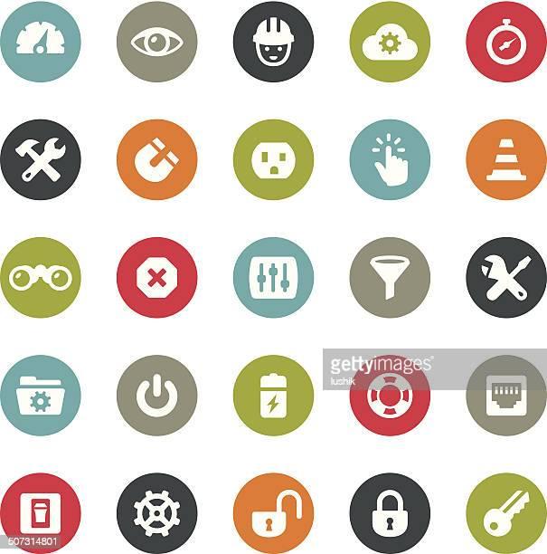 Tools and Settings icons / Ringico series