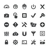 Tools and Settings Icons - Smart Series