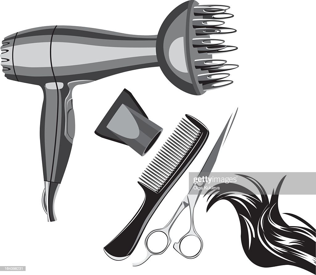 tools for hairdressing and beauty salons