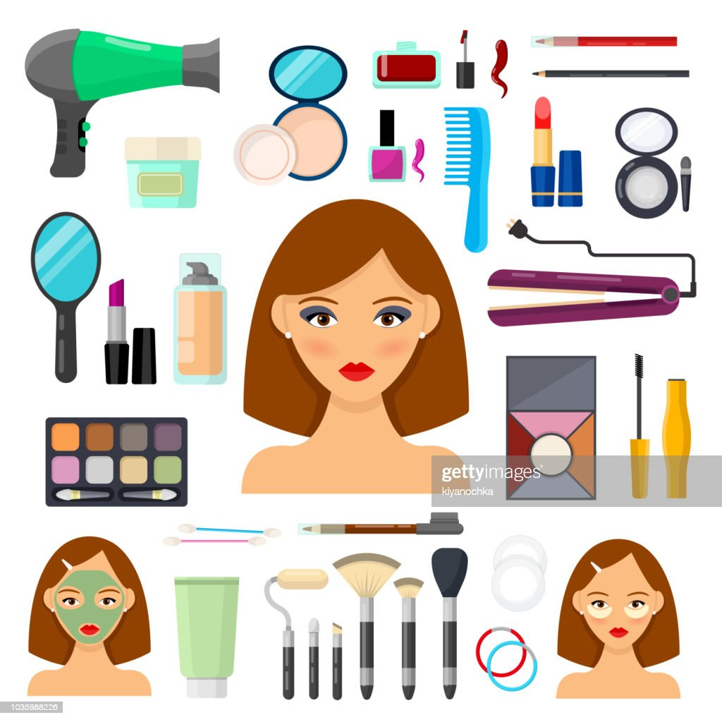 tools for makeup and beaty
