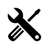 Tools icon flat vector illustration design