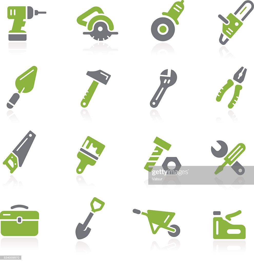 Tools Icons // Natura Series