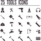 Free Gardening tools and plants set Clipart and Vector