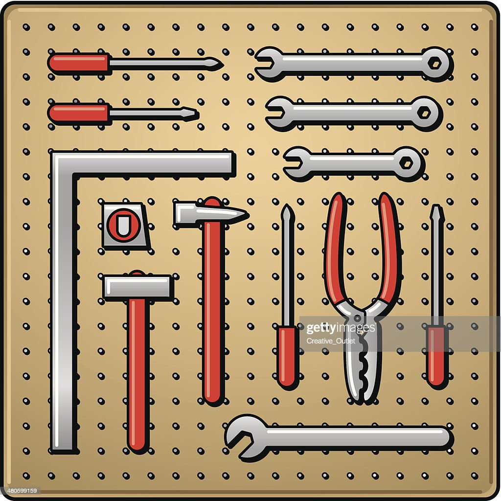 Tools Peg Board C