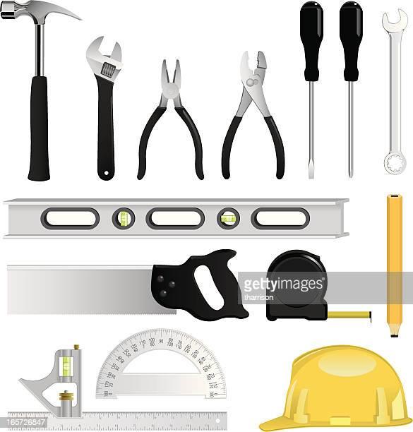 tools - protractor stock illustrations, clip art, cartoons, & icons
