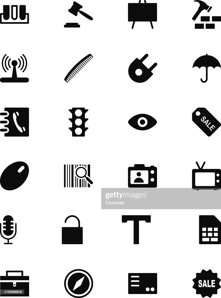 Tools Vector Solid Icons 4