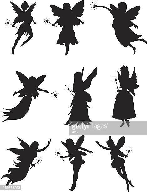 tooth fairies - fairy stock illustrations