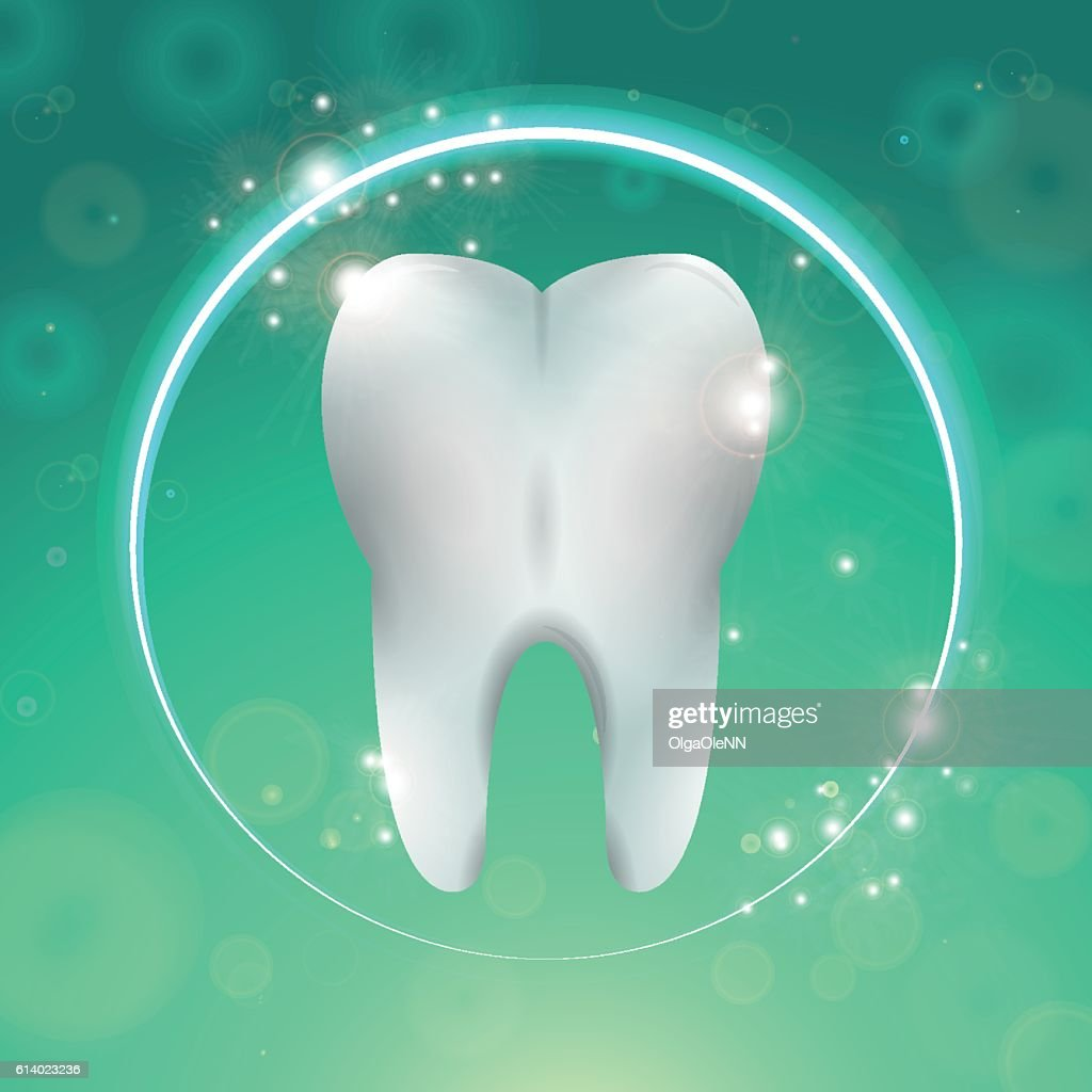 Tooth in circle