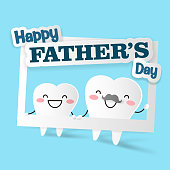 tooth with happy father day