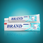 toothpaste package design
