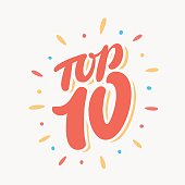 Top 10. Lettering