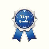 Top Quality Silver Platinum Blue Seal