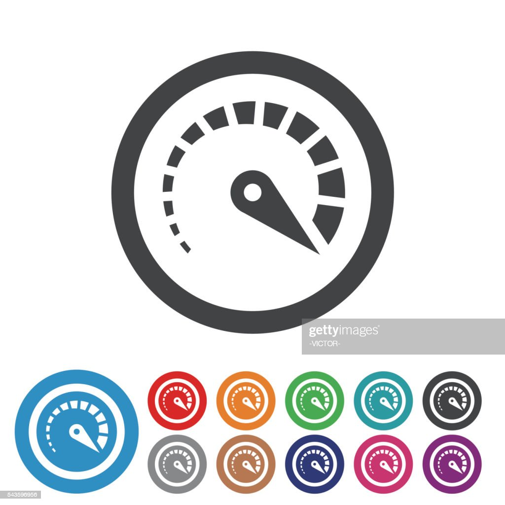 Top Speed Icons - Graphic Icon Series