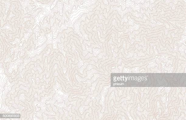 topographic contour lines - cartography stock illustrations