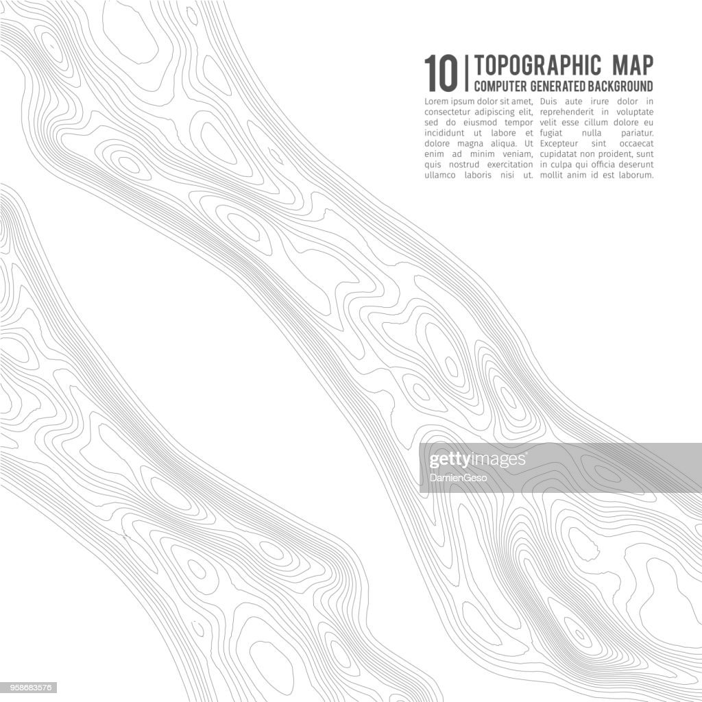 Topographic map contour background topo map with elevation contour topographic map contour background topo map with elevation contour map vector geographic world topography map grid abstract vector illustration gumiabroncs Images