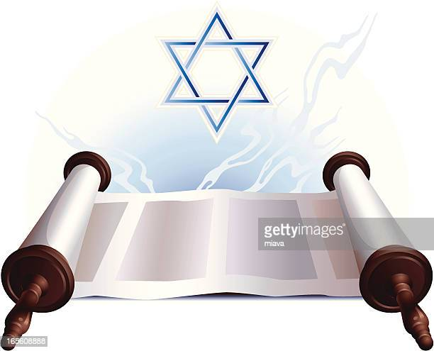 torah - torah stock illustrations