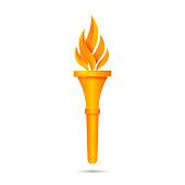 Torch icon design