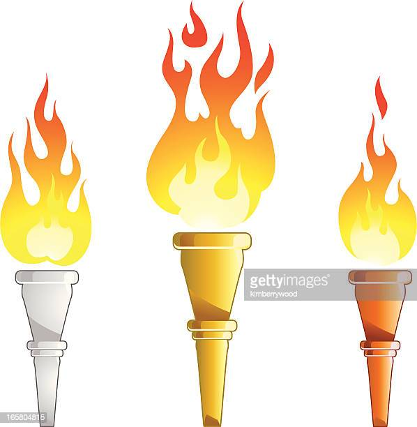 torch - sport torch stock illustrations, clip art, cartoons, & icons