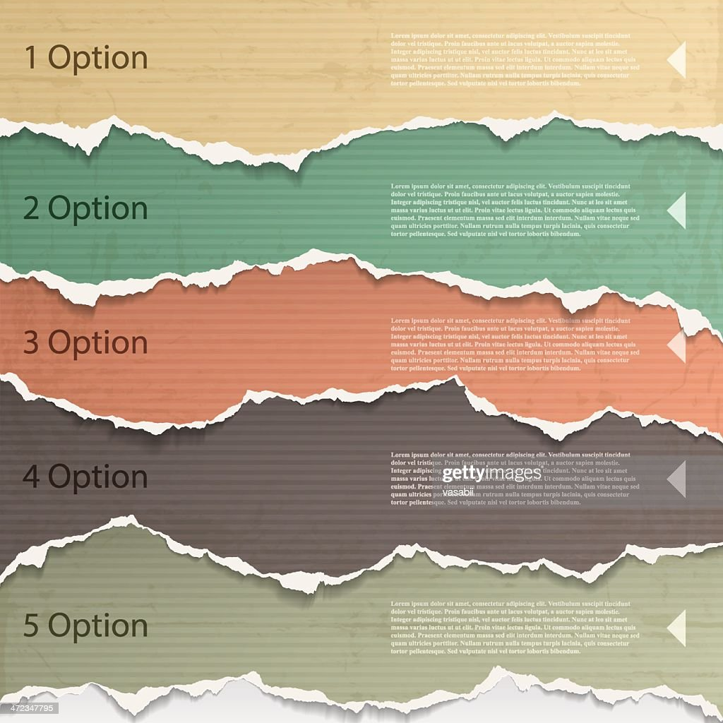 Torn paper background images for a presentation