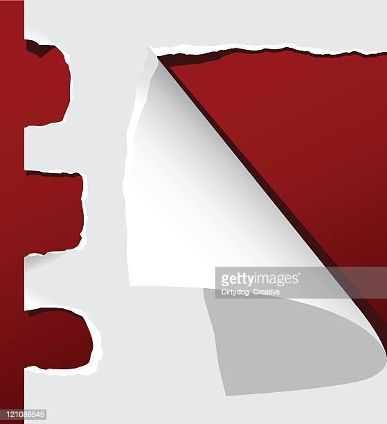 torn paper - cut or torn paper stock illustrations, clip art, cartoons, & icons