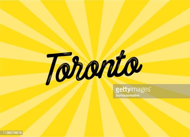 Toronto Lettering Design