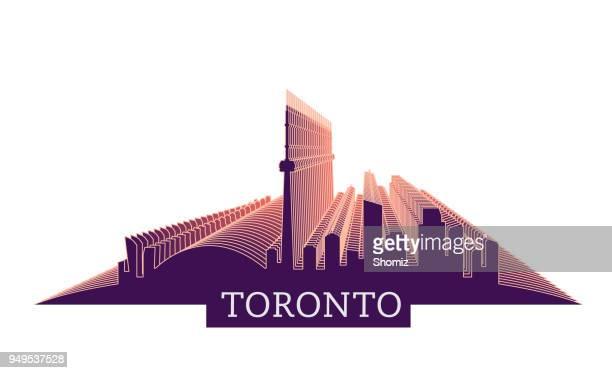 Skyline von Toronto Ontario Kanada