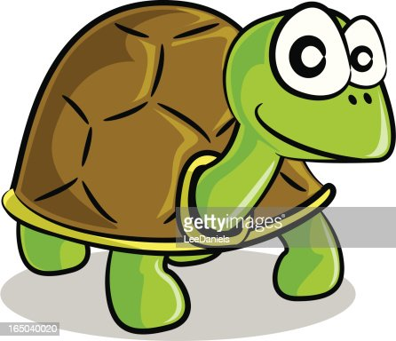 Tortoise cartoon stock illustration getty images - Clipart tortue ...