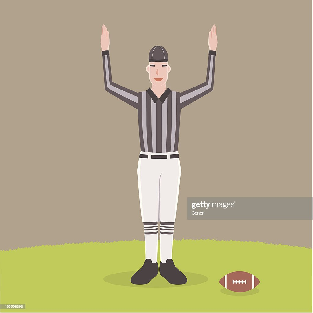 touchdown! : stock illustration
