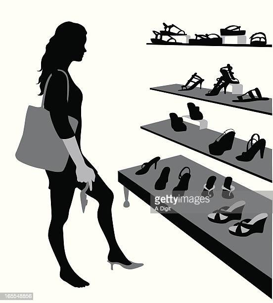 Tough Choices Vector Silhouette