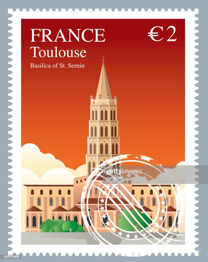 FRANCE - Toulouse : stock illustration