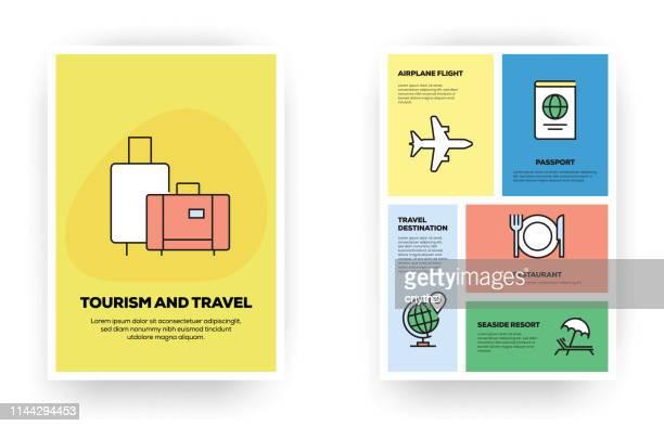 illustrations, cliparts, dessins animés et icônes de infographie relative au tourisme et aux voyages - tourisme