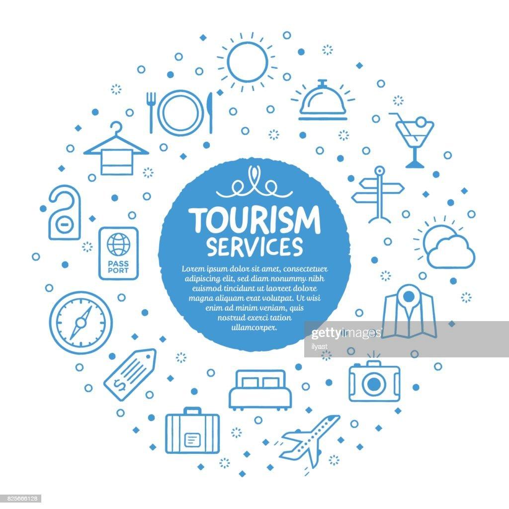 Tourism Service Poster