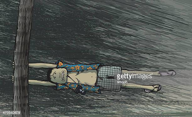 tourist storm col - hurricane stock illustrations, clip art, cartoons, & icons