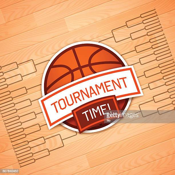 tournament time - basketball ball stock illustrations, clip art, cartoons, & icons
