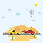 Tow Truck Desert