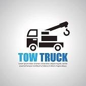 tow truck, Symbol