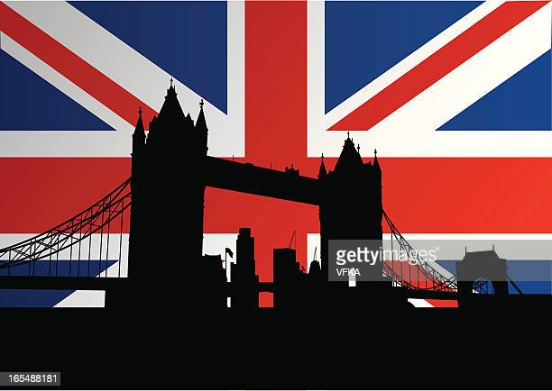 Tower Bridge on Union Jack