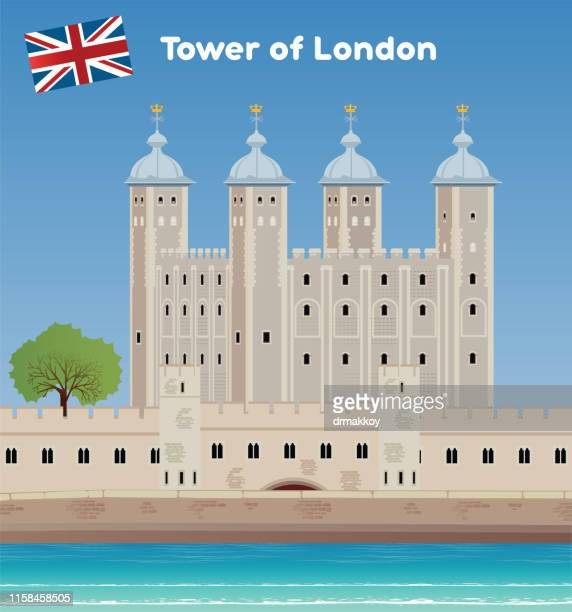 tower of london, united kingdom - tower of london stock illustrations