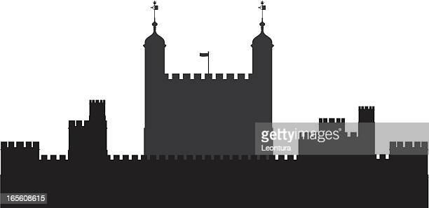 tower of london - tower of london stock illustrations