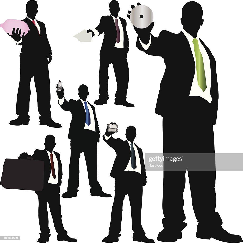Towering Businessman Series