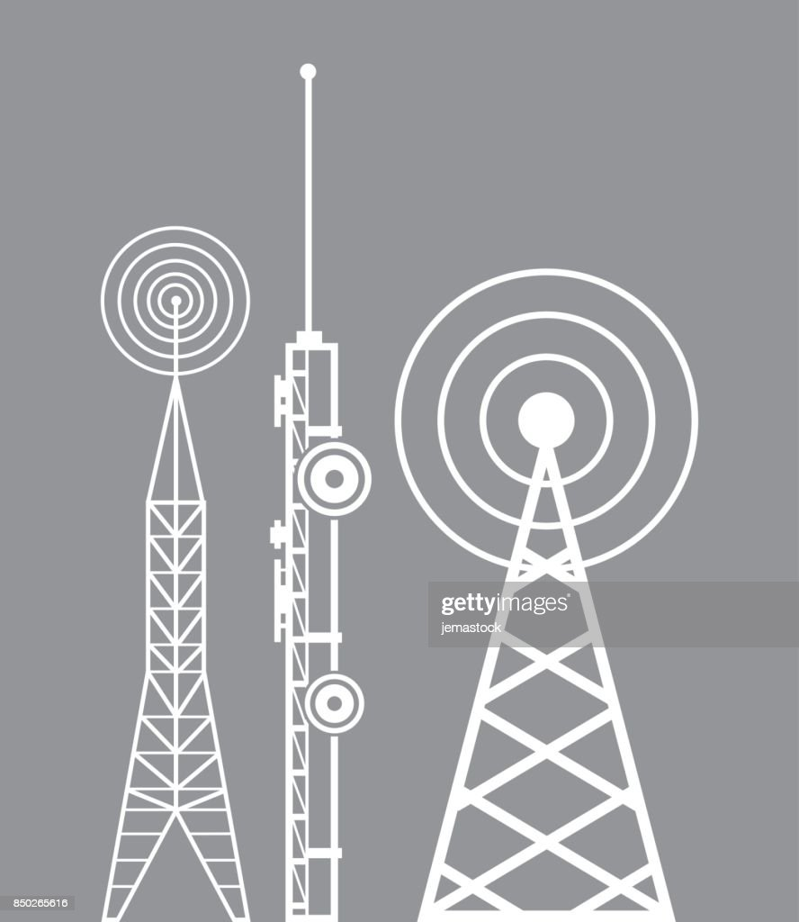 towers telecommunication television radio