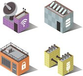 Town Buildings   Computers