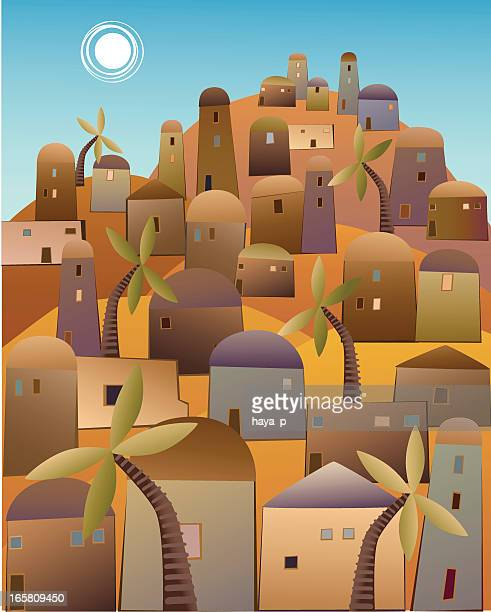 Town in the Middle East