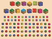 Toy Block Alphabet