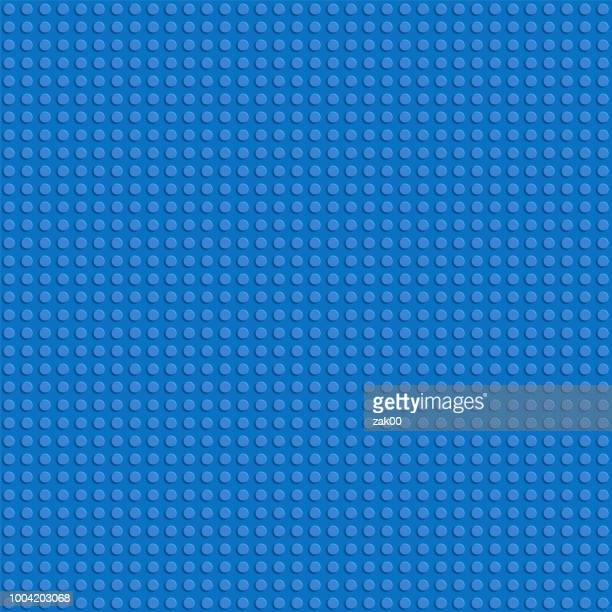 toy blocks vector background. vector seamless pattern - brick stock illustrations