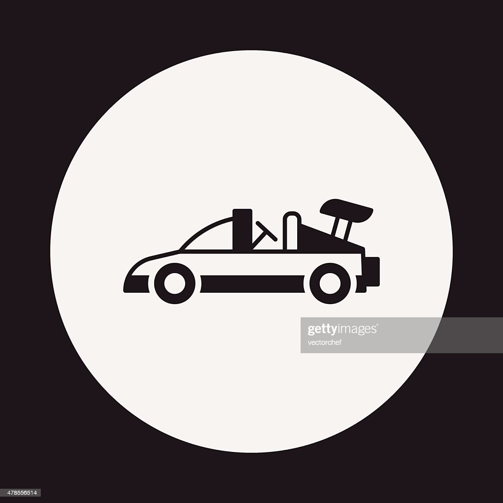 Toy Car Icon Vector Art Getty Images