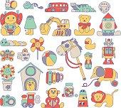 Toy Doodle Illustration